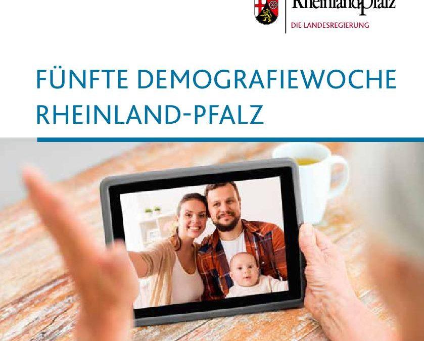 Landesweite Demografiewoche in Rheinland-Pfalz