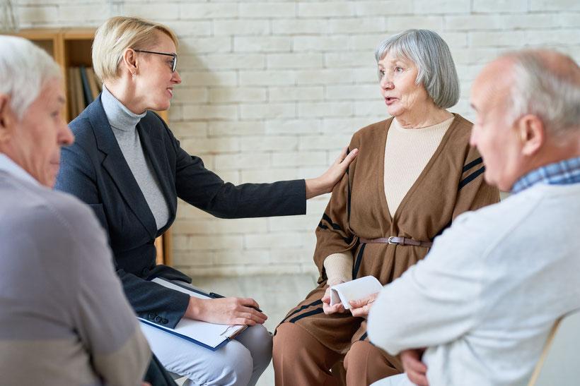 Pflegestammtisch online: Angebot für pflegende Angehörige durch die Stadtteilkoordination BME